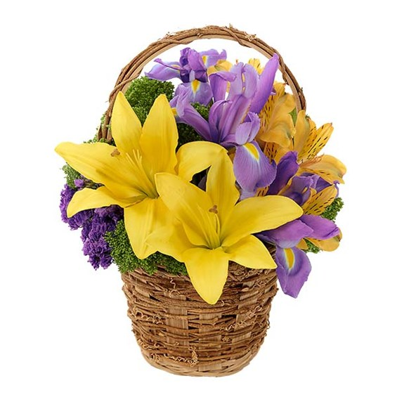 Cheery Easter Basket (BF397-11KM)